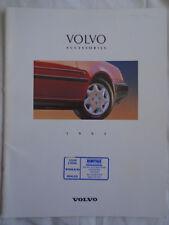 Volvo Accessories range brochure 1993