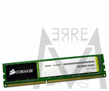 Memoria PC Desktop RAM CORSAIR DDR3 1333MHz 2GB CL9 Value Sel. 1333 VS2GB1333D3