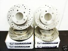2008 Ford Mustang Rotors V8 GT Drilled & Slotted FREE S&H