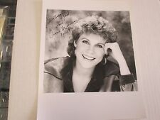 Anne Murray Canadian Pop, and country singer Hand Signed 8x10  W/ COA