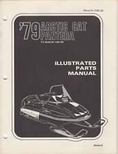 1979 Arctic Cat Snowmobile Pantera Parts Manual
