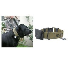 M1 K9 Adjustable Collar for dogs - 2 sizes - Ultimate Large Breed Dog