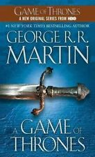 A Song of Ice and Fire #1: A Game of Thrones by George R.R. Martin (MM PB)