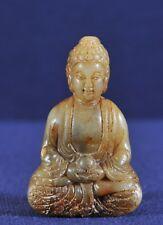 Jade Chinese Buddha figure, 19th century