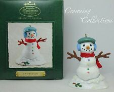2002 Hallmark Snowman Keepsake Ornament Club KOCC Extended Membership Gift KOC