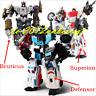 Transformers Defensor Bruticus Superion Complete Combiner Wars Figure Toys 5in1