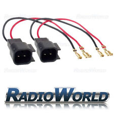 Ford Focus & KA & Mondeo Speaker Adaptor Lead Loom Connectors PC2-815 Pair