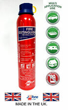 Fire Extinguisher 600G ABC Ideal for Caravan,Home, Office, Car, Taxi - FREE P&P