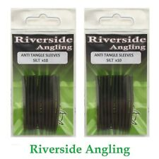 Anti Tangle Sleeves Black 54mm x20  Terminal Tackle End Rigs Carp Fishing