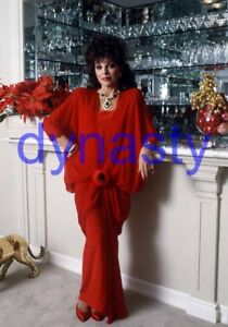 DYNASTY #13983,JOAN COLLINS,8x10 PHOTO,closeup,THE COLBYS