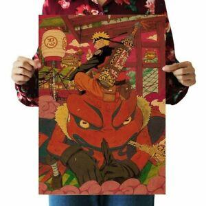 "Japan anime Naruto Shippuden Wall Art Posters Home Decor Prints ""20 X 13.7"" inch"