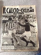 IL CALCIO E IL CICLISMO  ILLUSTRATO 1963 N° 14 Juventus Milan   23/6