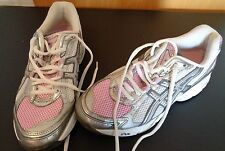 ASICS Girls Size 6 Running Athletic Shoes GT-2130 Pink Gray CN 803 Free Shipping
