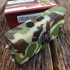 MONSTER CAMO 18 Million Volt Stun Gun Rechargeable w/LED light & HOLSTER