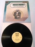 THE GREEN HORNET - JUSTICE WEARS A BLINDFOLD MURDERS & THE DOPE RACKET LP EX!!!