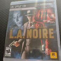 L.A. Noire (Sony PlayStation 3, 2011) PS3 Complete w/ Manual (CB215) FREE SHIP