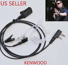 2 Pin Acoustic Tube Headset Earpiece for Kenwood Retevis H-777 UV-5R TYT Radio