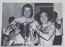 CHELSEA FOOTBALL CLUB - SIGNED 1971 ECWC FINAL PHOTO, SIGNED - OSGOOD & HARRIS