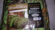 WOODS 12 PIECE COMFORTER 15 COLORS ALL SIZES