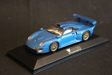 Minichamps Porsche GT1 1:43 Blue Metallic Special Modell Fahrzeug Magazine (HB)