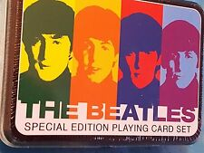 The Beatles Special Edition Playing Cards ~ New in Sealed Tin