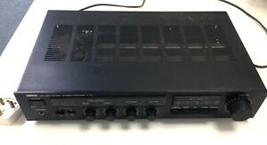 Yamaha A-07 Amp Stereo Amplifier Black And White 240 Volts #144