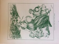 m17a1 ephemera 1920s book plate do tell us a fairy story auntie