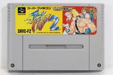 Final Fight 2 SFC Nintendo Super Famicom SNES Japan Import US Seller I7690