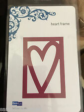 Quickutz HEART FRAME Die Cutter, Love/Valentines Day