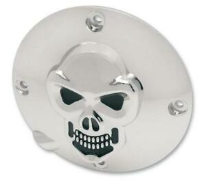 Drag Specialties for Harley Davidson 94-03  3-D Skull Derby Cover Chrome XL