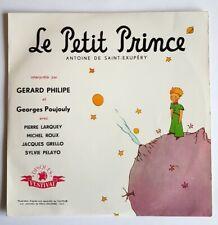 DISQUE 33 TOURS 25 cm GÉRARD PHILIPE + ANTOINE DE SAINT-EXUPÉRY LE PETIT PRINCE