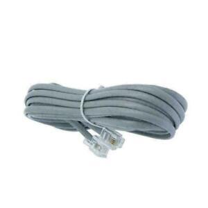 2-Pack 6FT Line Cord Cable 6P6C RJ12 RJ11 DSL Modem I3E5 Landline Phone Re T2C2