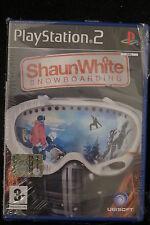 PS2 : SHAUN WHITE SNOWBOARDING - Nuovo, risigillato, ITA ! Domina la montagna !