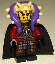 Lego New Chen with Cape Ninjago Ninja Purple Minifigure Minifg
