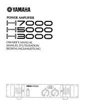 Yamaha H-7000 Amplifier Owners Manual
