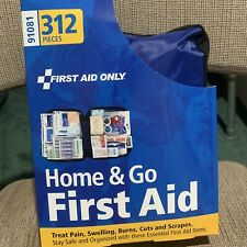 All Purpose First Aid Kit, Softsided, 312 pc - Large Car Boat Trauma Outdoor