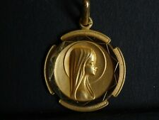 ancienne medaille religieuse Vierge Maria  2.4 cm  MR 0929