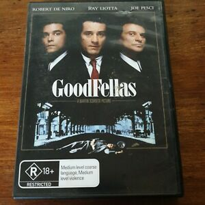 Goodfellas DVD R4 Like New! FREE POST
