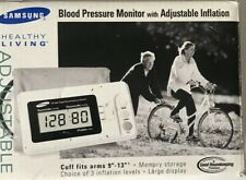 Samsung Healthy Living BD-3000S Deluxe Digital Blood Pressure Monitor With Cuff