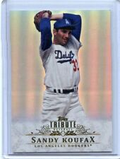 2013 TOPPS TRIBUTE #10 SANDY KOUFAX LOS ANGELES DODGERS  EX/NM