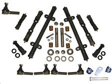 DELUXE Front End Kit EARLY 51 Kaiser 1951 w/ King Pin Kit Steering Tie Rod Ends