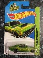 Hot wheels 2015 68 HEMI Barracuda Plymouth Mopar Dodge Chrysler Long Card