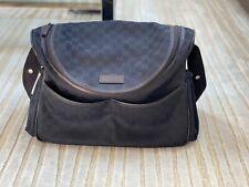 Gucci GG Black Diaper Bag Est. Retail $1,150