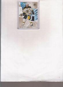 2020/21 SP GAME USED PATRICE BERGERON 3 COLOR PRENIUM PATCH CARD #82 #d/25 $$$$$
