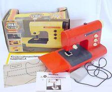 VEB Piko Anker Spielzeug GABRIELA Kids SEWING MACHINE Battery Operated MIB`76!