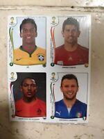 Panini Brasil world 2014 update set aggiornamento
