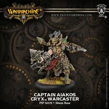 Cryx Captain Aiakos Warcaster Privateer Press Warmachine PIP34129 Hordes