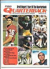 Archie Manning/Theisman/Plunkett/Dickey/Hixson Mar 1971 Pro Quarterback Magazine