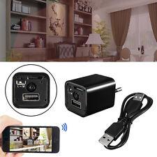 Mini USB HD1080P Wall Adapter US EU Plug AC Charger Spy Hidden Camera Nanny Cam