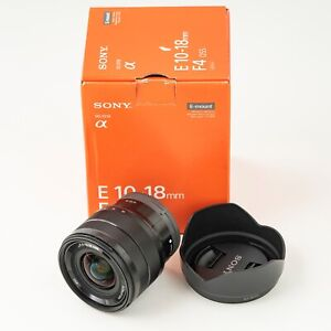 Sony E 10-18mm f/4 OSS Lens Wide Angle